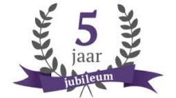 5 jarige jubileum